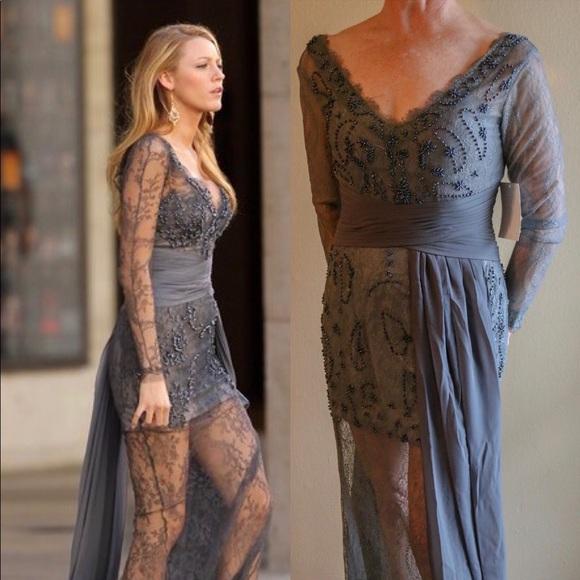 Blake Lively Gossip Girl Inspired Formal Dress Nwt